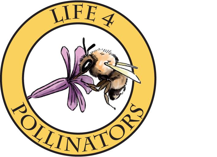 LIFE 4 POLLINATORS logo